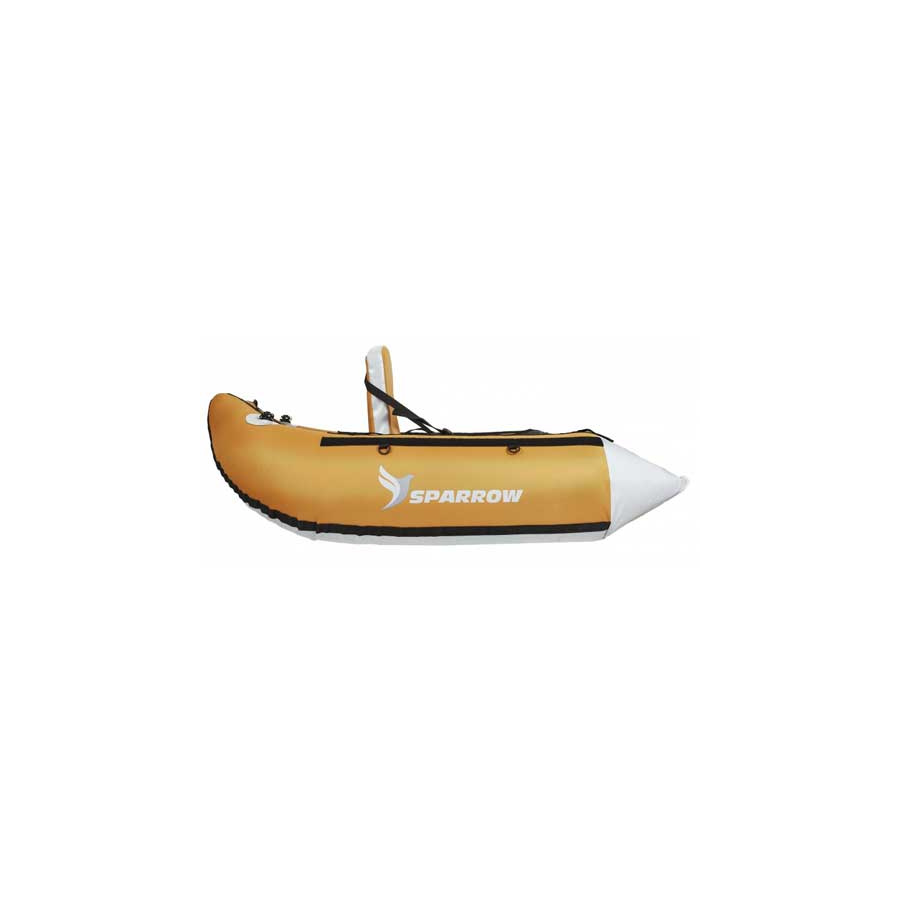 JMC Sparrow Float Tube Trium sage/gris Set