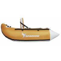 Sparrow Belly Boat Trium Orange/Grau