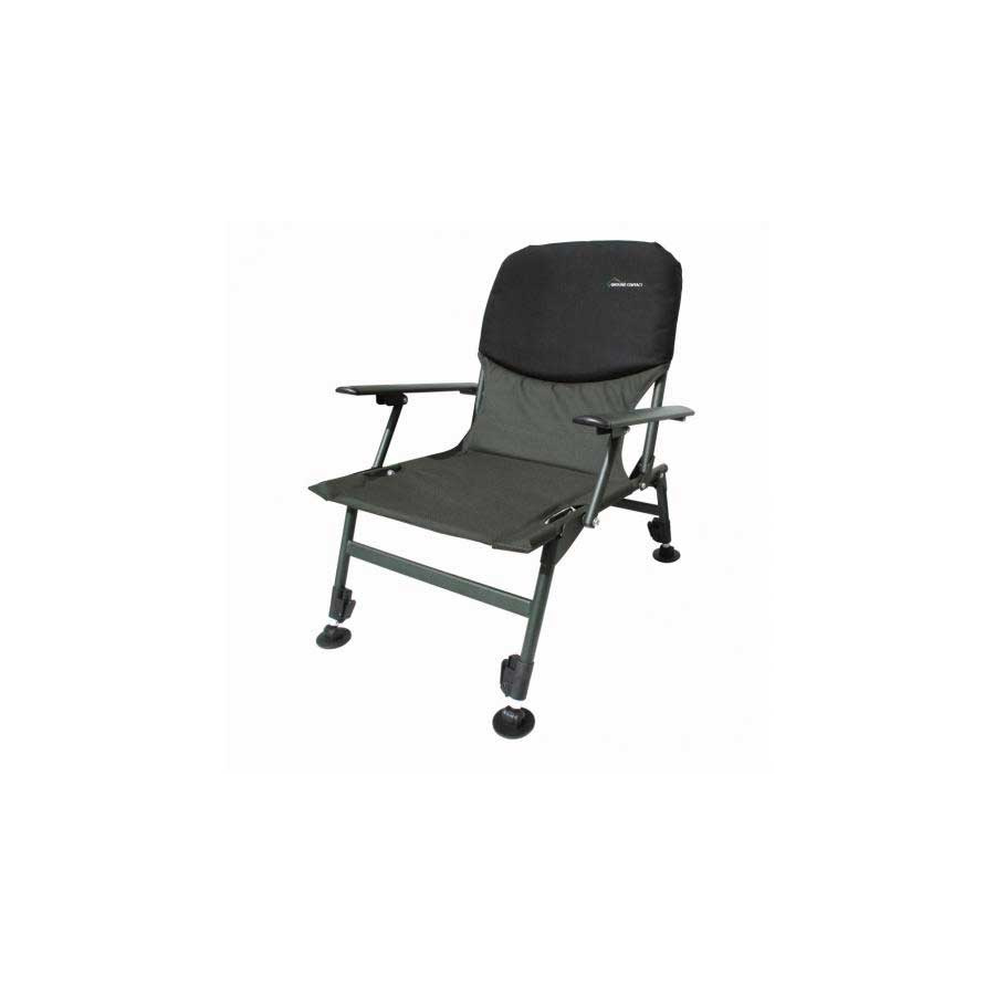Jenzi Ground Contact Chair mit Armlehne