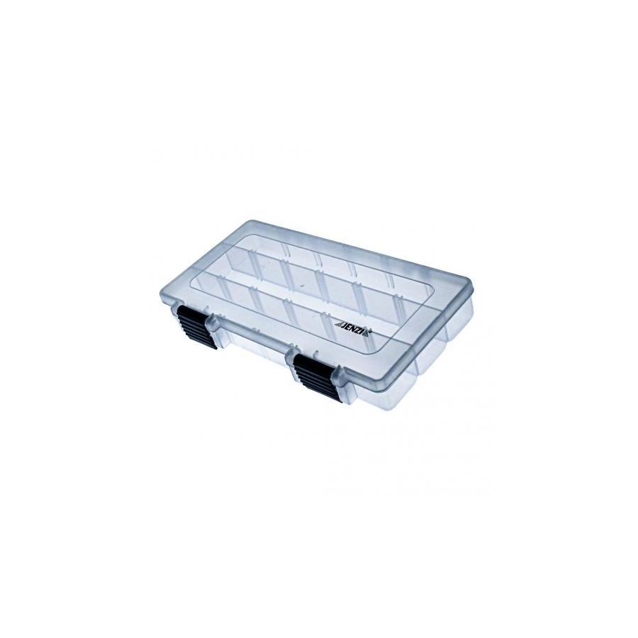 Jenzi Kunststoff Box transparent 228x112mm