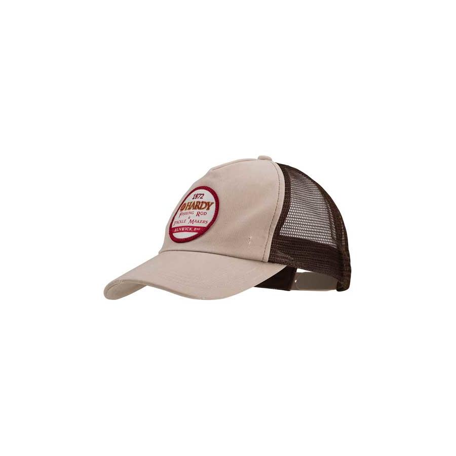 Hardy Logo Trucker Hat khaki/black