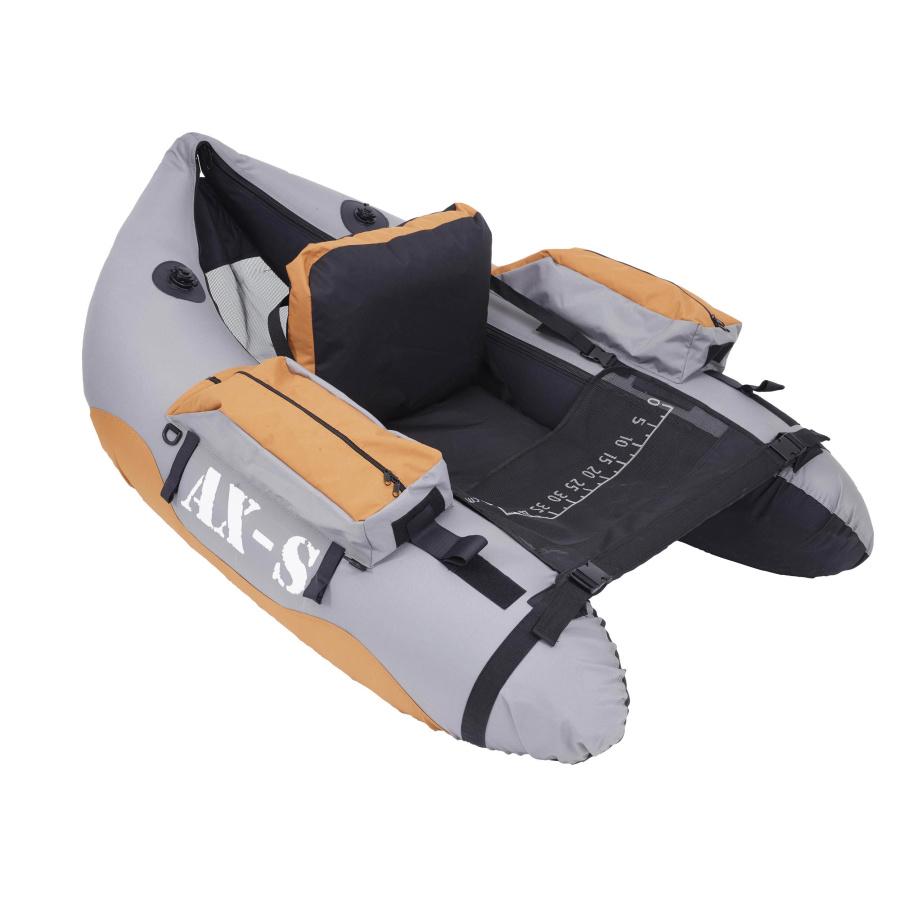 Sparrow Belly Boat AXS Premium Grau/Orange