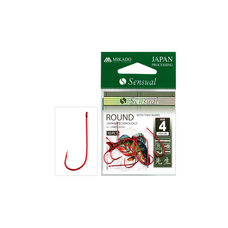Mikado Sensual Round Spezial Wurm red