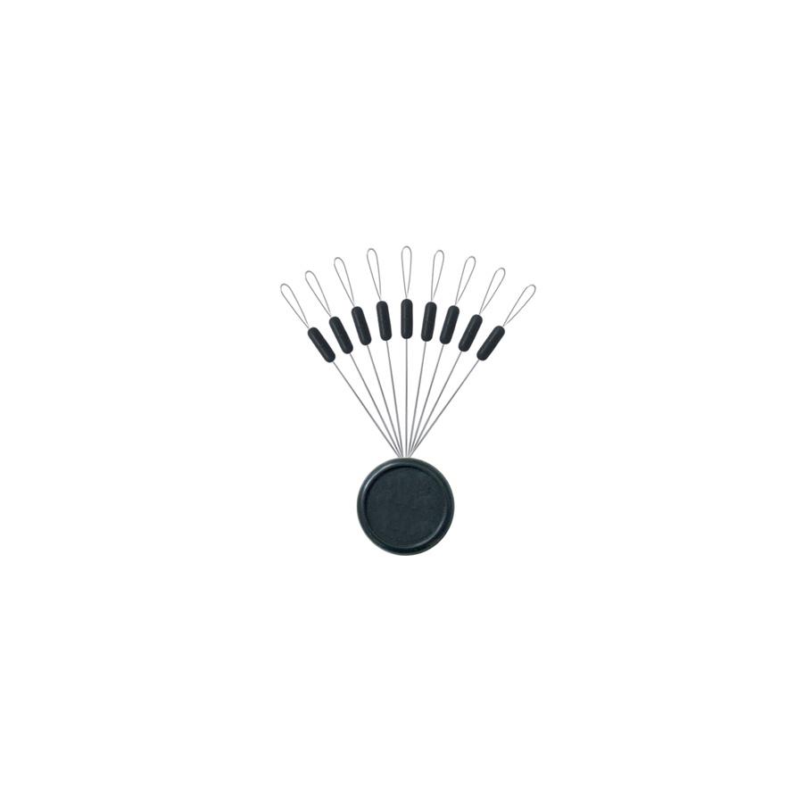 Sert Gummistopper schwarz oval