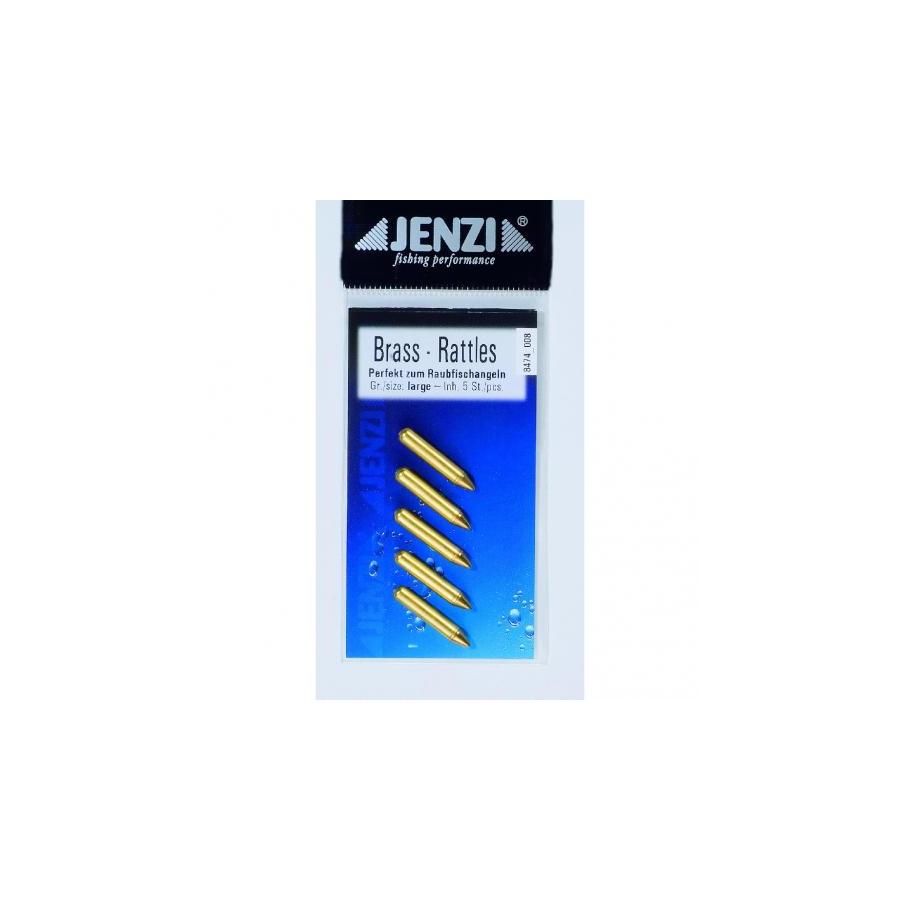 Jenzi Metall Rasseln Rattle Beads 2,3cm
