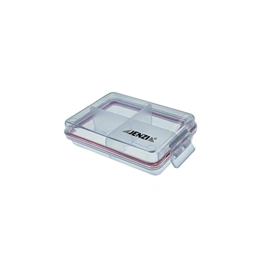 Jenzi Kunststoff Box transparent 105x70mm wasserdicht