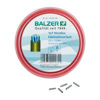 Balzer 1x7 Niroflex Edelstahlvorfach 10m Spule